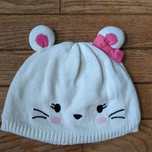 Gymboree Accessories - Gymboree Cat Mouse Hat and Mittens 12 - 24 Months